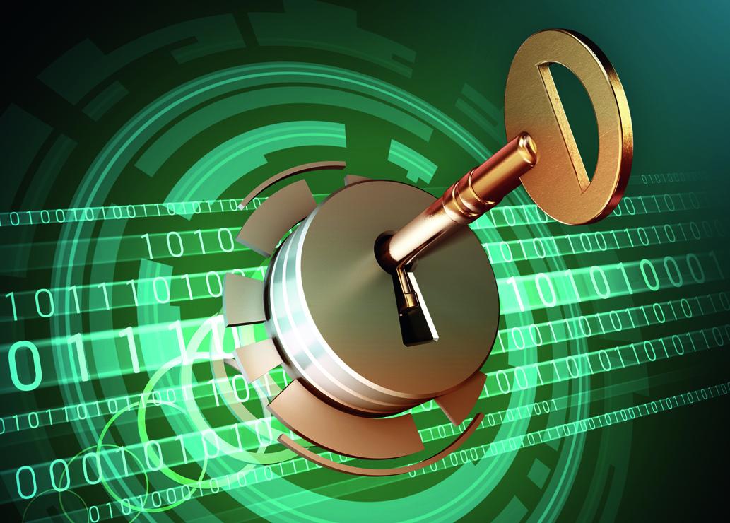 Dane bezpieczne, czyli zaszyfrowane