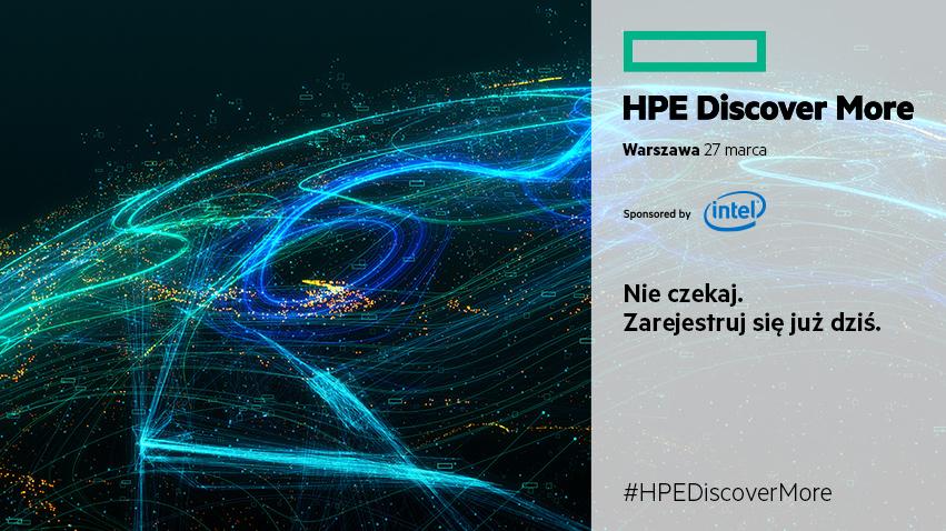 HPE Discover More 2019: przyspieszyć biznes