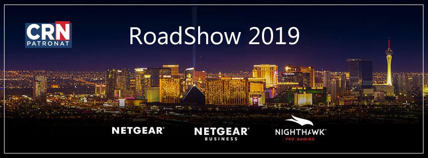 Netgear startuje z Roadshow 2019