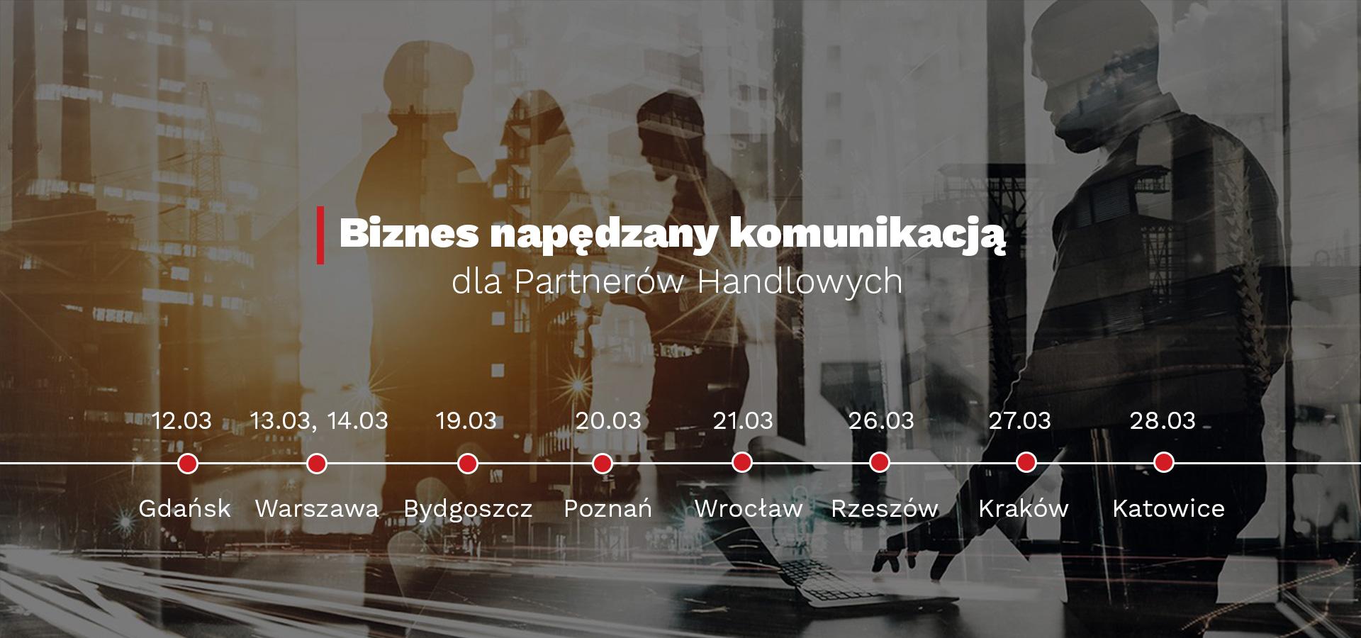 Polycom i Veracomp wyruszają w Polskę