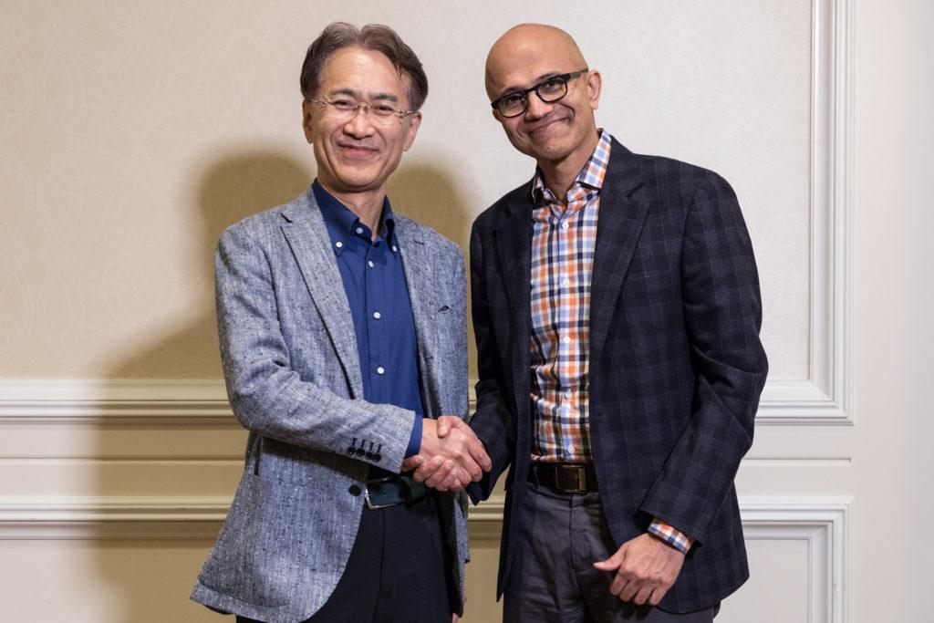 Sojusz Microsoftu i Sony