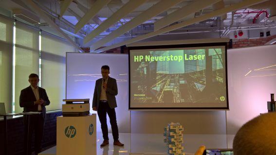HP drukuje bez końca