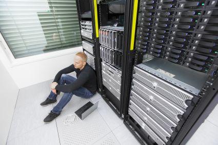 Rynek serwerów nurkuje po 10 kwartałach na plusie