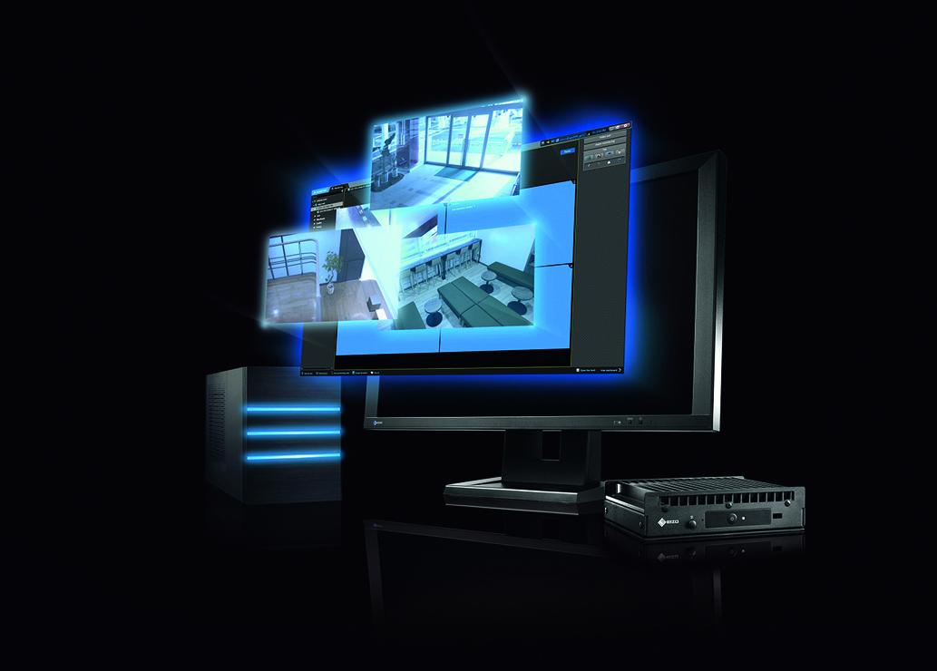 Dekodowanie sygnału IP: monitory i dekodery Eizo
