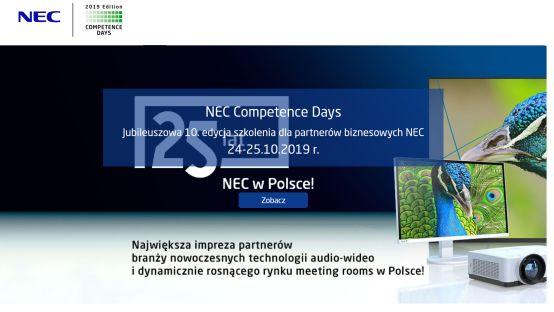 Jubiluszowe NEC Competence Days