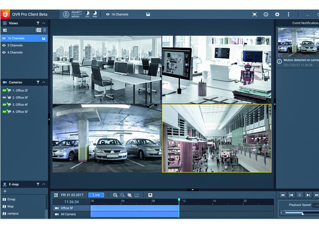 Serwer NAS jako profesjonalny system zarządzania wideo