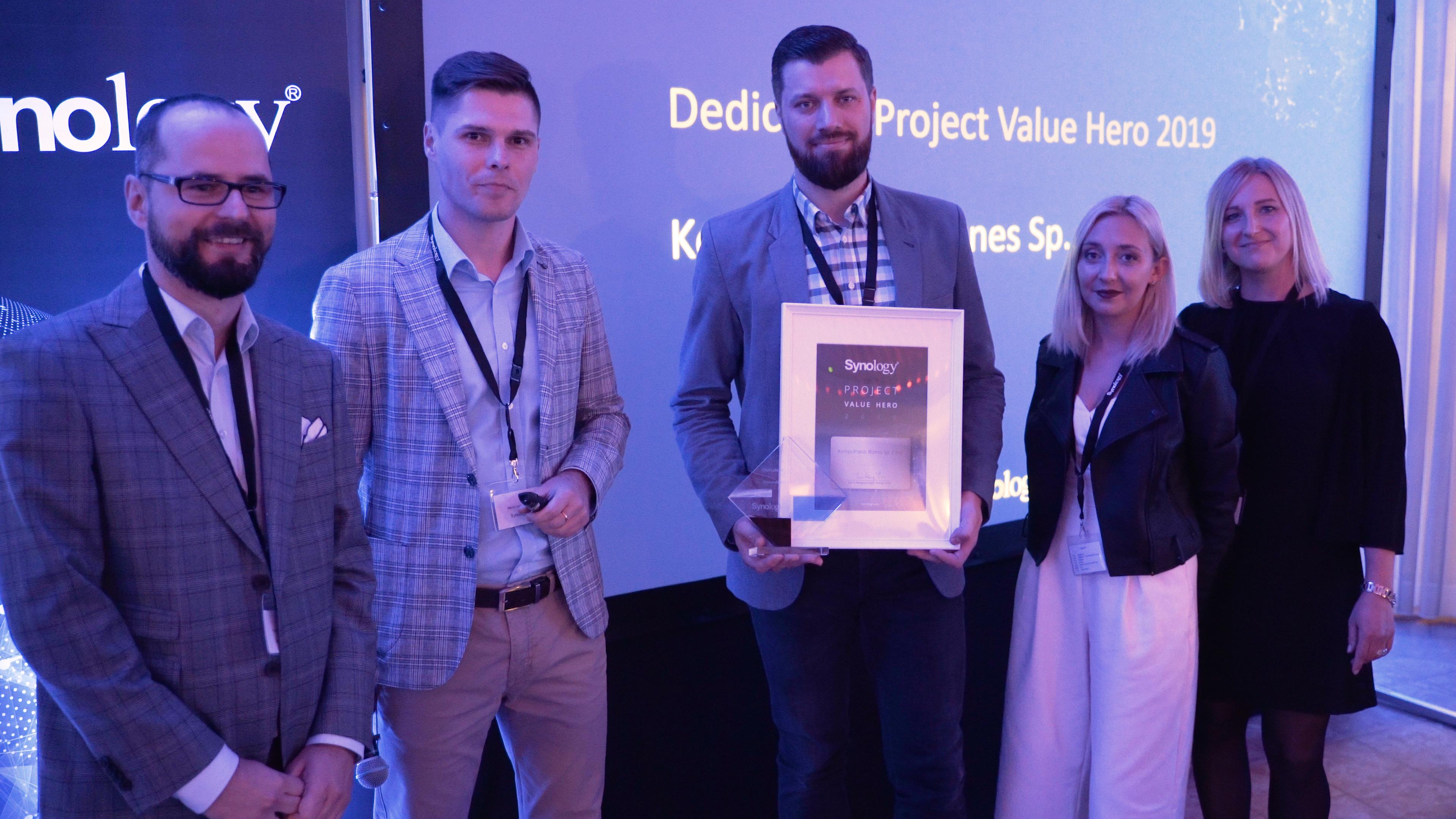 Partnerzy Synology odebrali nagrody