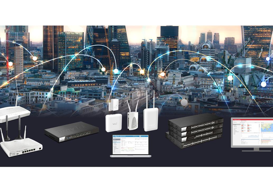 DrayTek: kompletna sieć dla MŚP