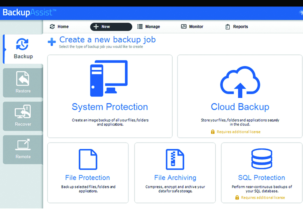 BackupAssist chroni użytkowników Windows
