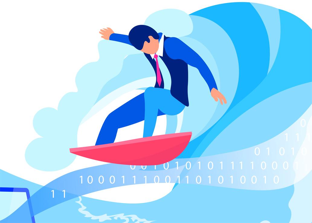 Surfując po tsunami danych