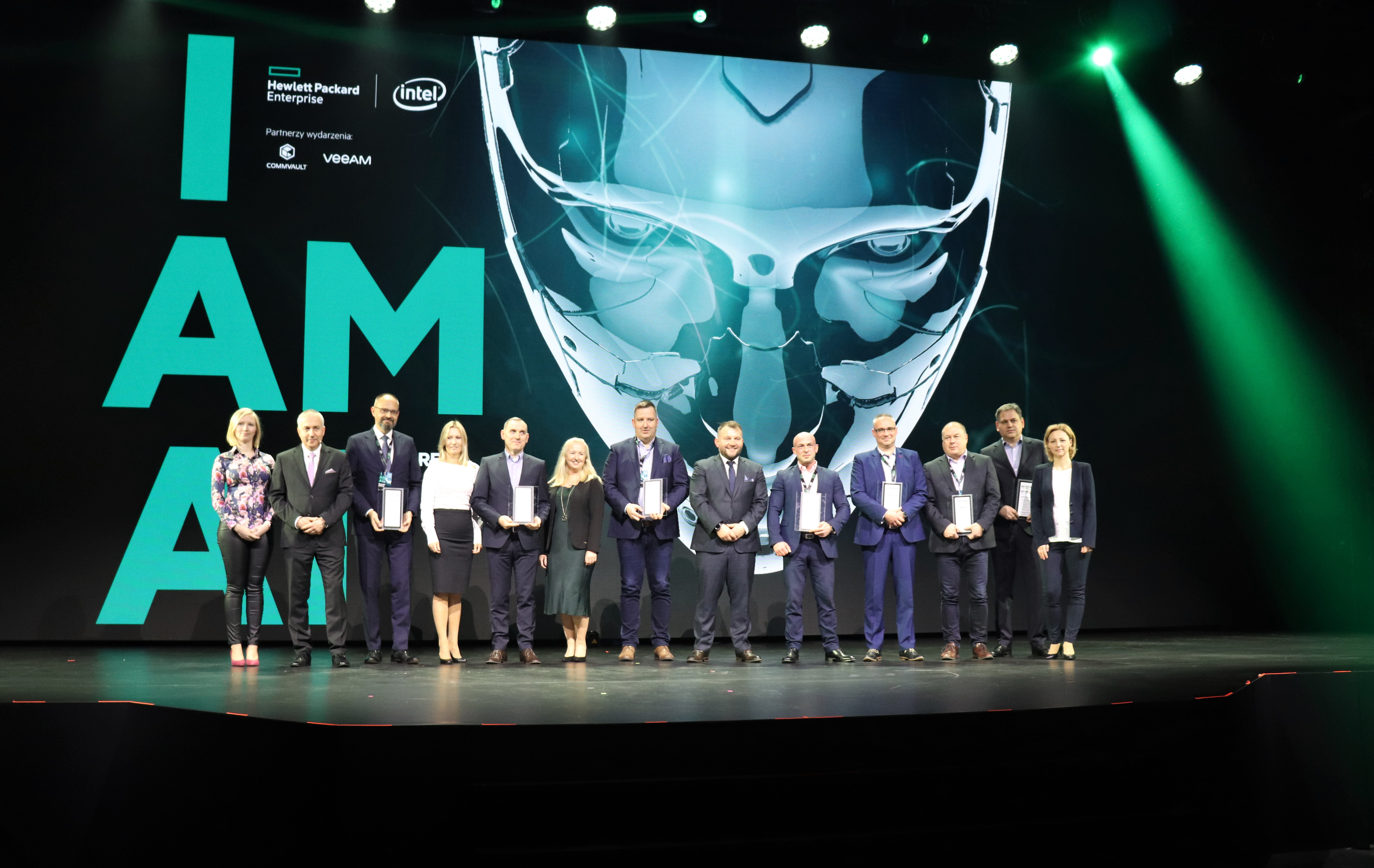 HPE nagradza najlepszych polskich partnerów