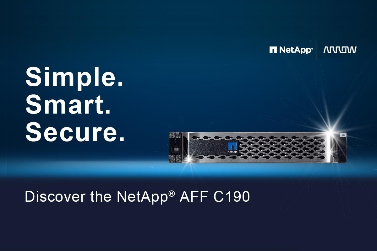 NetApp AFF C190: macierz na czas próby